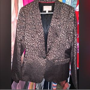 Banana Republic cheetah blazer